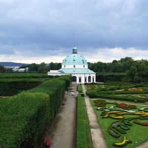 Kromierzyź Ogród kwiatowy