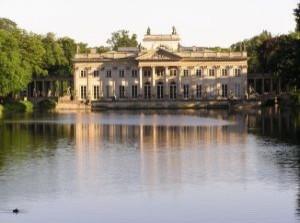 Pałac za Wodzie w Łazienkach Królewskich