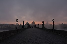 Praga Most Karola Czechy