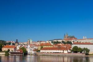 Praga - widok na Hradczany