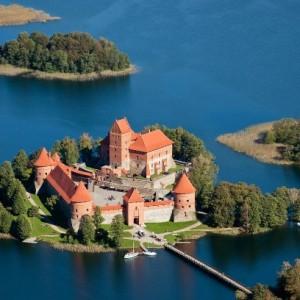 Troki zamek - Litwa