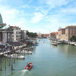 Wenecja Kanał Wielki Włochy