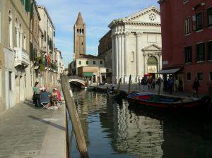 Wenecja kanał Włochy