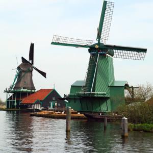 Zaanse Schans w Holandii